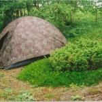 палатка на Белом море