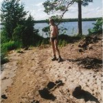 Стоянка с пляжем на острове Олений