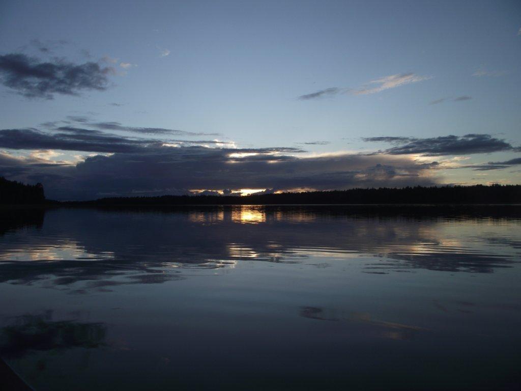 Закат на СиндомОзере