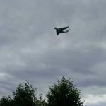 Самолеты над рекой Ока