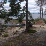 стоянка на острове Олений. Энгозеро