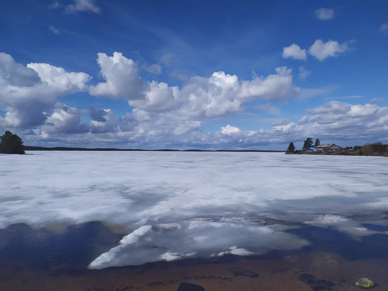 Энгозеро в мае
